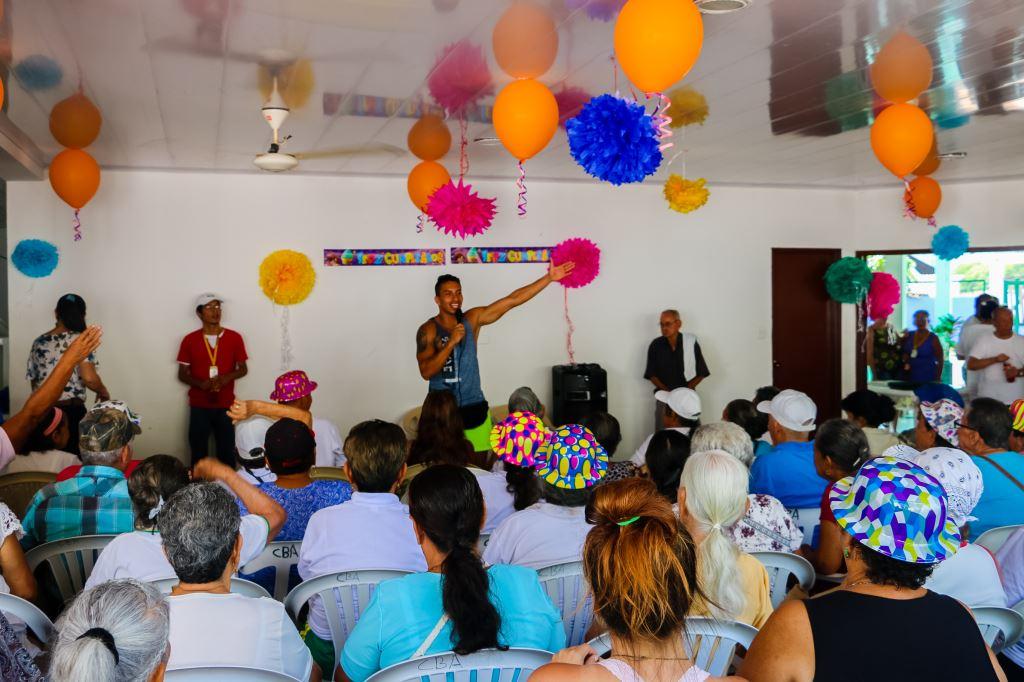 Celebracion De Los Cumpleanos De Los Adultos Mayores Puerto Salgar - Celebracion-cumpleaos-adultos